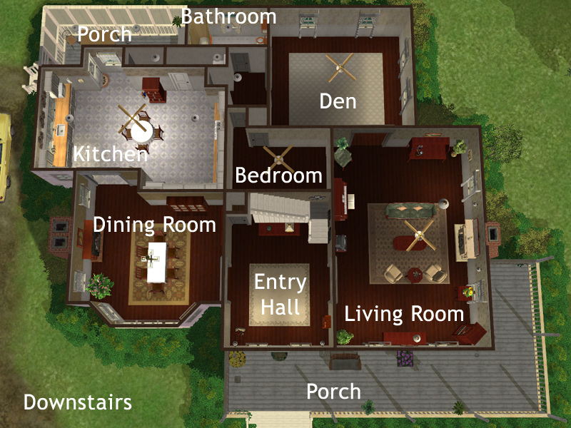 Bedroom Floor Plan Layout