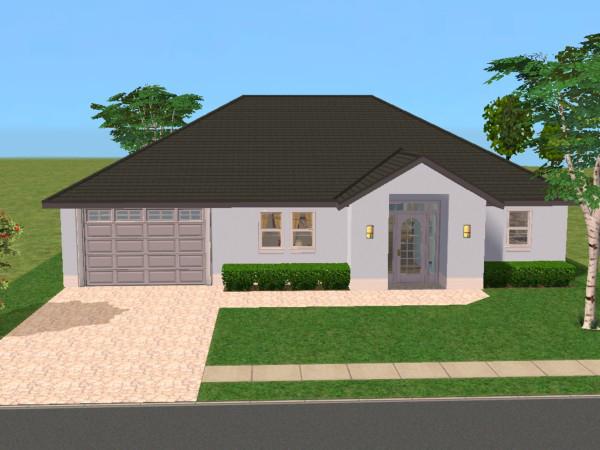 Sunni designs for sims 2 for Riverbend estate